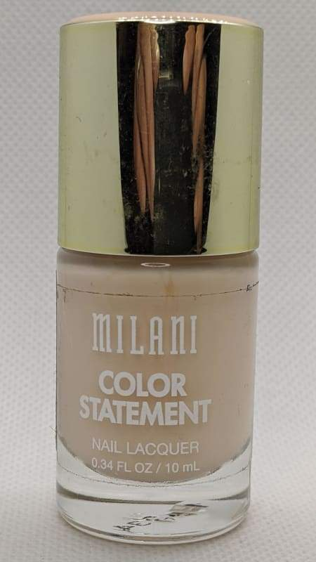 Milani Color Statement Nail Lacquer - 03 LadyLike Sheer-Nail Polish-Nail Polish Life