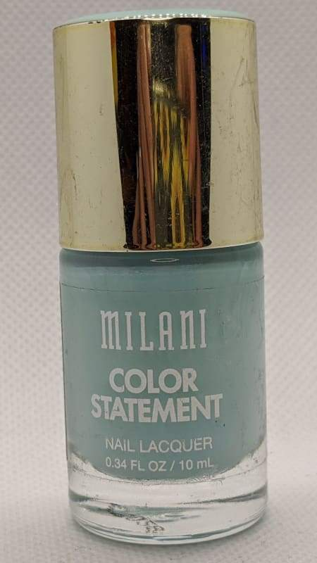 Milani Color Statement Nail Lacquer - 19 Mint Crush-Nail Polish-Nail Polish Life