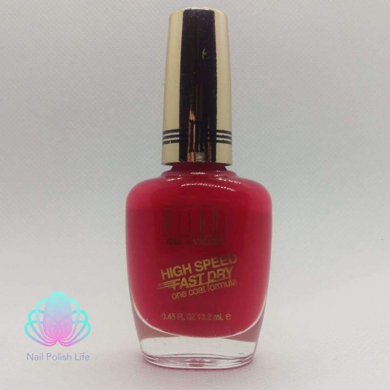 Milani High Speed Fast Dry One Coat Formula - 25 Flaming Race-Nail Polish-Nail Polish Life