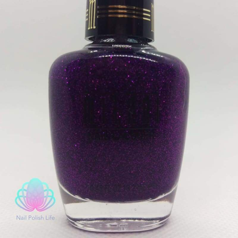 Milani One Coat Glitter - 524 Purple Gleam-Nail Polish-Nail Polish Life