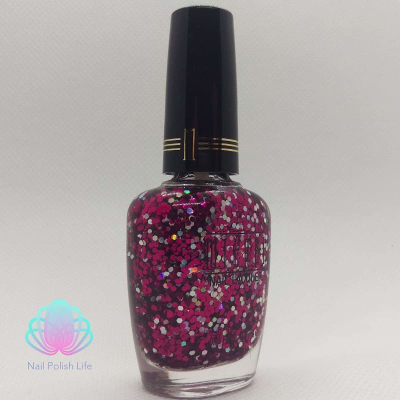 Milani One Coat Glitter- 583 Hot Pink-Nail Polish-Nail Polish Life