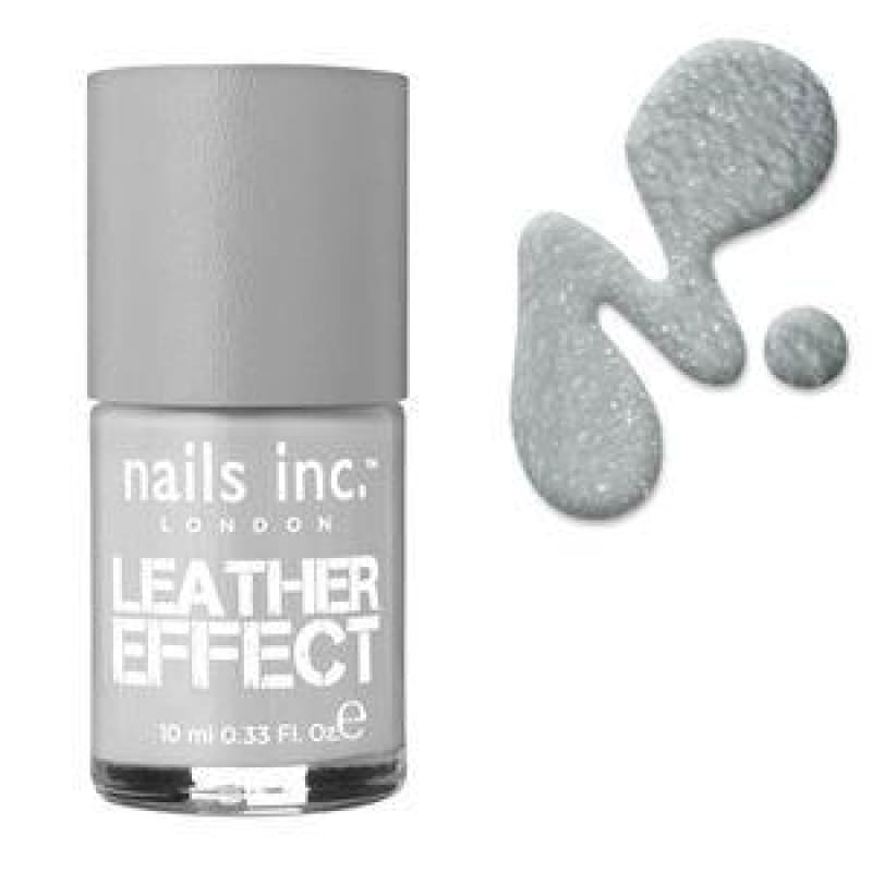 Nails Inc Leather Finish Nail Polish - Old Compton Street - Nail Polish