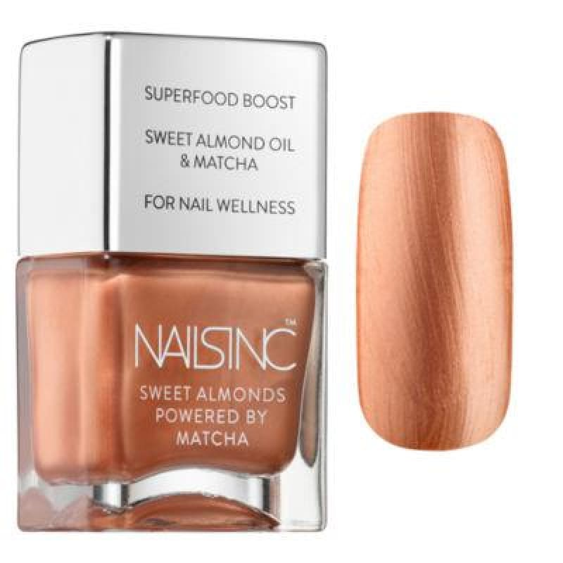Nails Inc Sweet Almonds Nail Polish - Mayfair Market - Nail Polish