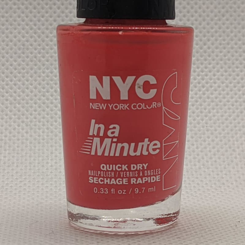 NYC In A Minute Quick Dry Nail Polish - 273 Penn Station Pink-Nail Polish-Nail Polish Life