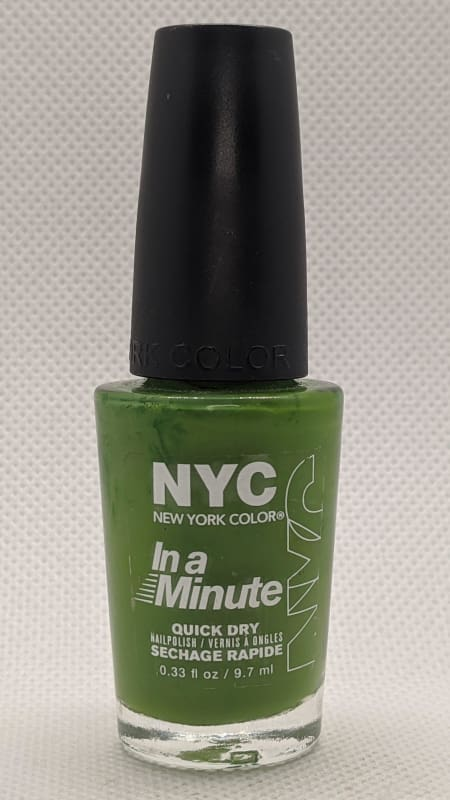 NYC In A Minute Quick Dry Nail Polish - 298 High Line Green-Nail Polish-Nail Polish Life