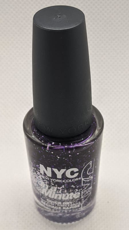 NYC In A Minute Sparkle Top Coat - 280 NY Princess-Nail Polish-Nail Polish Life