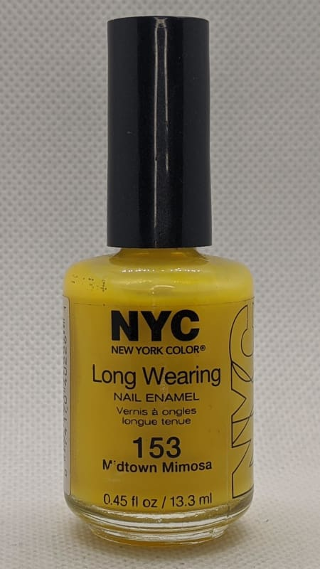 NYC Long Wearing Nail Enamel - 153 Midtown Mimosa-Nail Polish-Nail Polish Life