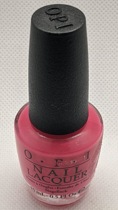 OPI Nail Lacquer - Charged Up Cherry-Nail Polish-Nail Polish Life