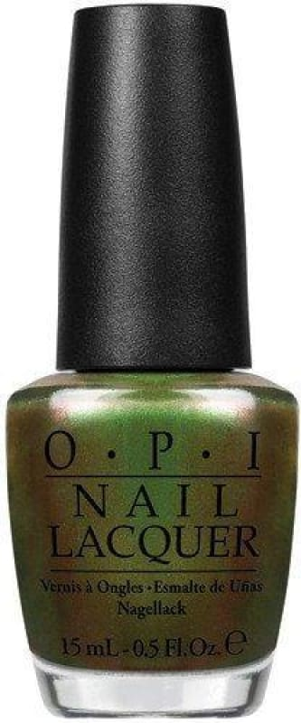 OPI Nail Lacquer - Green On The Runway - Nail Polish