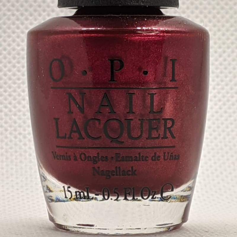 OPI Nail Lacquer - I'm Not Really A Waitress-Nail Polish-Nail Polish Life
