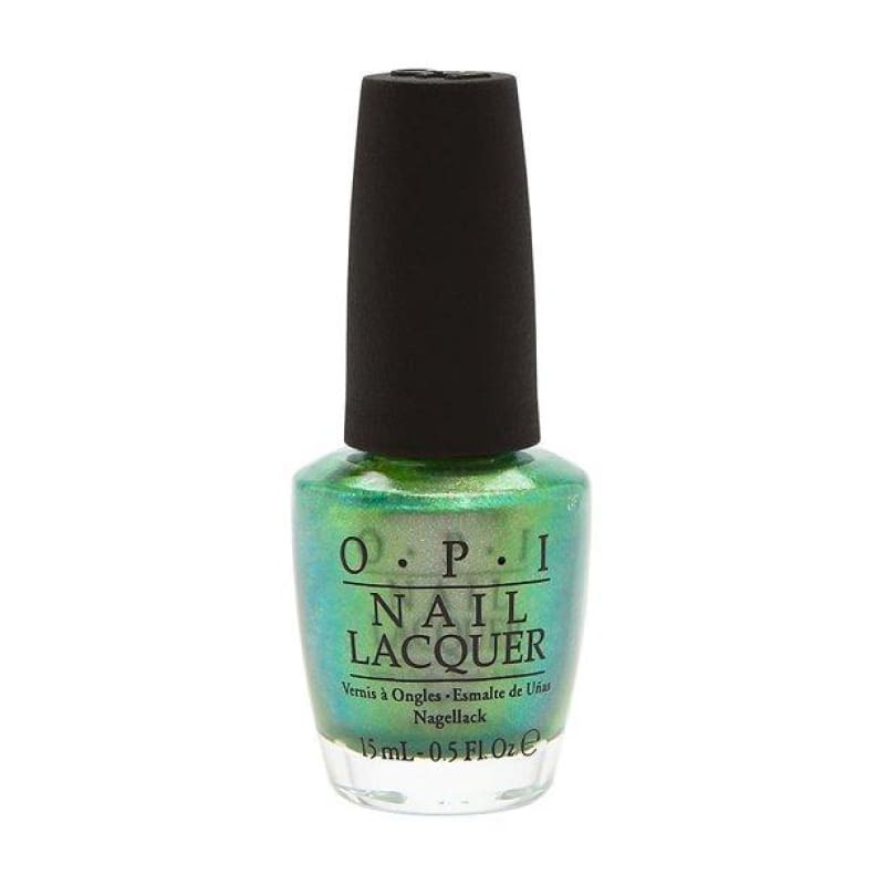 OPI Nail Lacquer - Visions of Georgia Green - Nail Polish