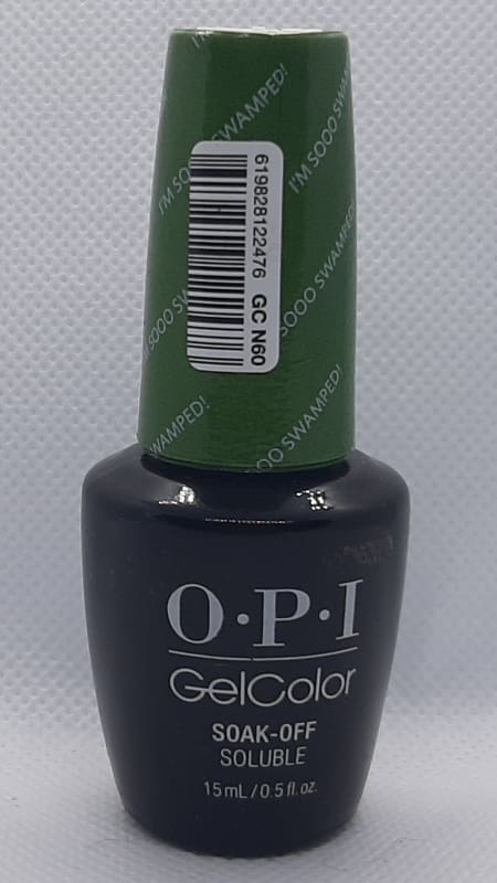 OPI Soak Off Gel Color - I'm Sooo Swamped - Nail Polish