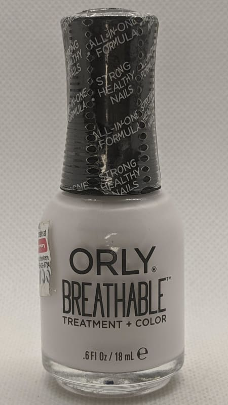 Orly Breathable Treatment & Color - 20908 Barely There-Nail Treatment-Nail Polish Life
