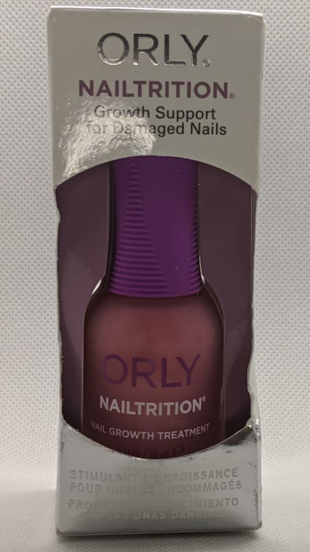 Orly Nailtrition - Growth Support for Damaged Nails-Nail Treatment-Nail Polish Life