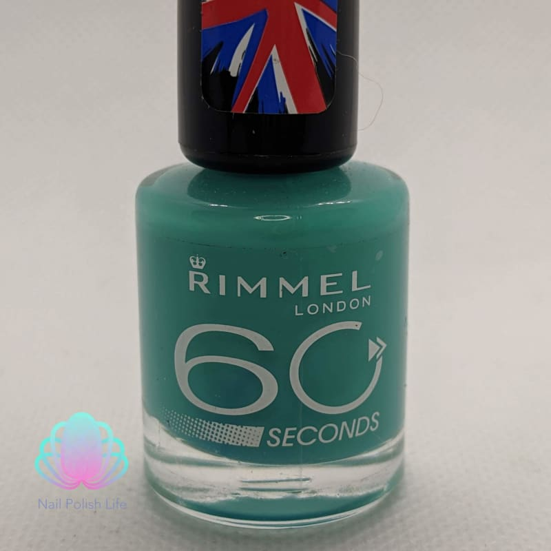 Rimmel 60 Seconds - 504 District-ly Come Dancing-Nail Polish-Nail Polish Life