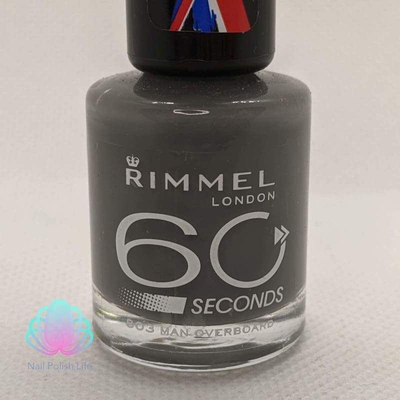 Rimmel 60 Seconds - 803 Man Overboard-Nail Polish-Nail Polish Life