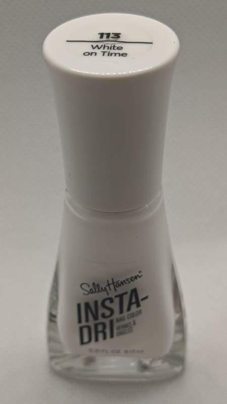 Sally Hansen Insta-Dri - 113 White On Time-Nail Polish-Nail Polish Life