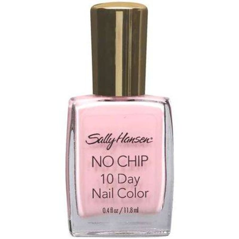 Sally Hansen No Chip 10 Day Nail Color - 29 Timeless Rose - Nail Polish