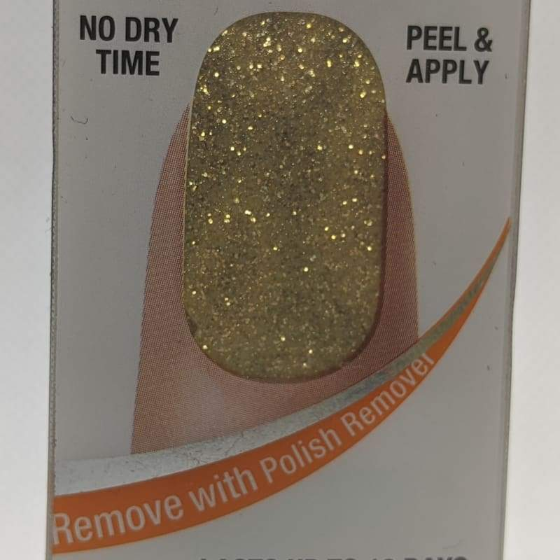 Sally Hansen Salon Effects - 260 Glitz Blitz-Nail Applique-Nail Polish Life