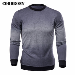 COODRONY Cashmere Homme Top Sweater