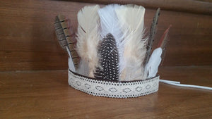 Feather Crown - Ready Made