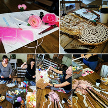 Load image into Gallery viewer, Private Dream Catcher Workshop- Vintage Doily Style