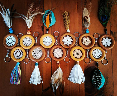 Dream Catcher Key Ring - Bespoke