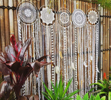 Load image into Gallery viewer, 5 Hoop Dream Catcher Cluster - Bespoke