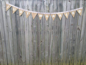 Thank You / Just Married Bunting- Bespoke