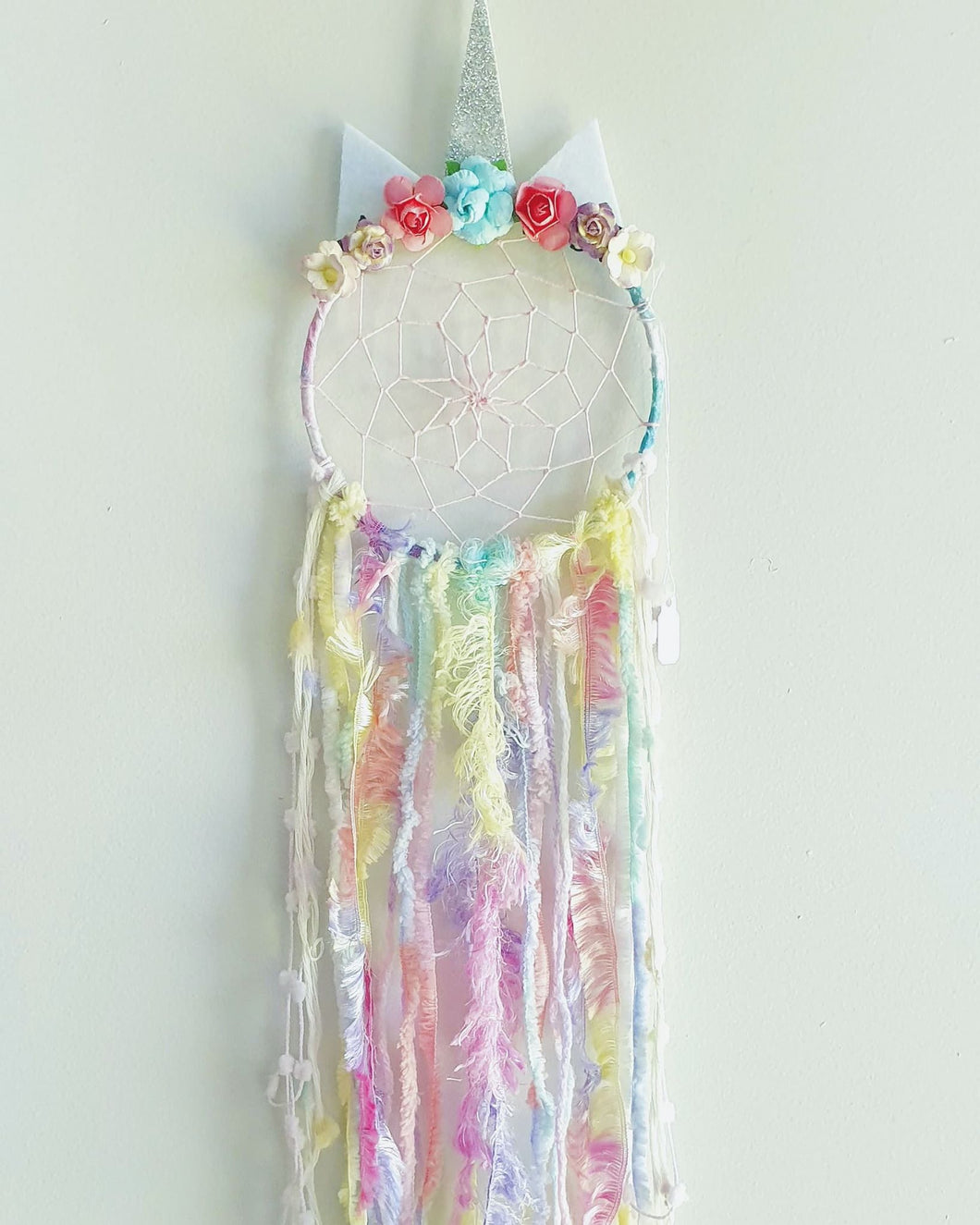 Mini Unicorn Dream Catcher - Ready Made