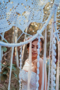Giant Boho Dream Catcher Backdrop - Hire