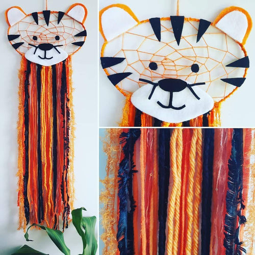 Tiger Dream Catcher - Bespoke
