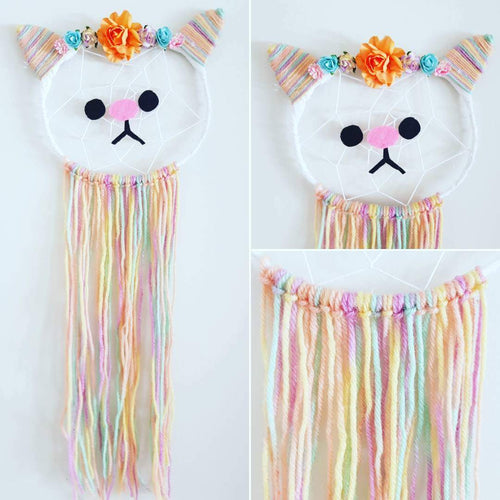 Cat Dream Catcher - Bespoke