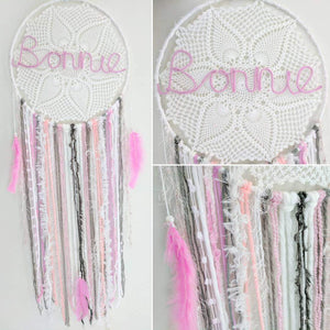 70cm Giant Dream Catcher with Name - Bespoke