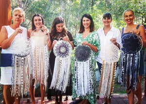 Private Dream Catcher Workshop- Vintage Doily Style