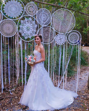 Load image into Gallery viewer, Oversized Multi Hoop Dream Catcher Backdrop - Bespoke