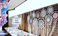 Load image into Gallery viewer, Giant Boho Dream Catcher Backdrop - Hire