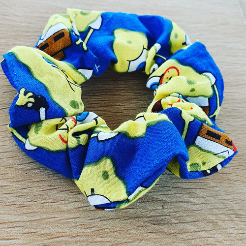 SpongeBob Scrunchie - Ready Made