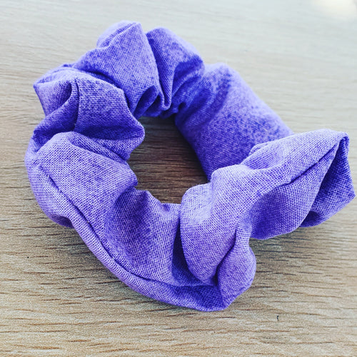 Purple Scrunchie - Ready Made