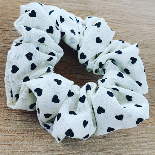 Heart Scrunchie - Ready Made