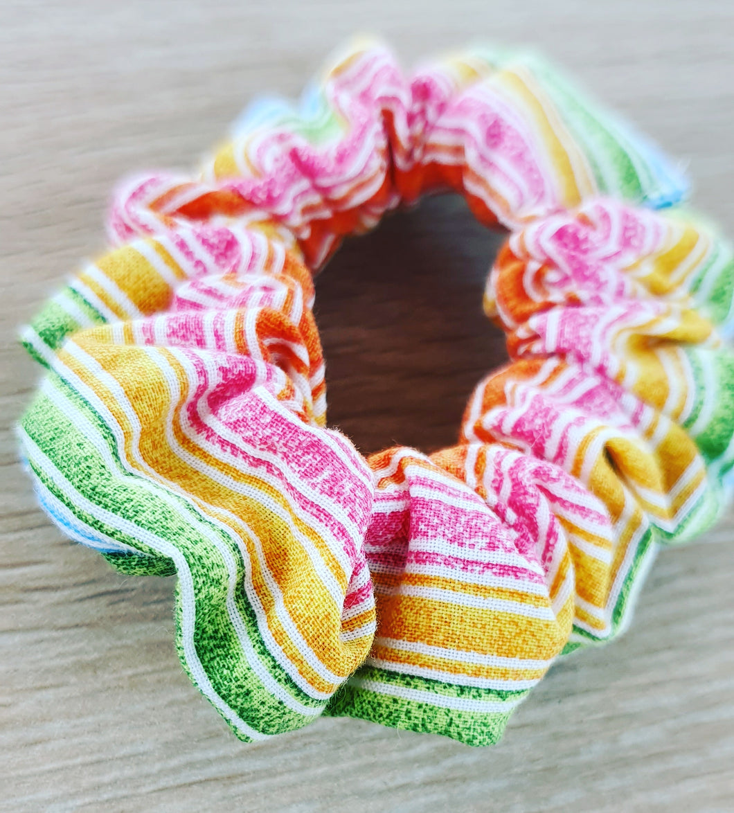 Rainbow Scrunchie - Ready Made