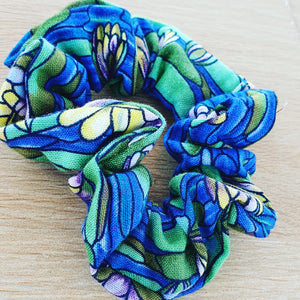 Lily Pad Scrunchie - Ready Made