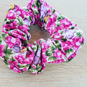 Floral Scrunchie - Ready Made
