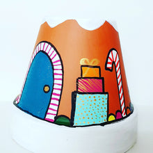 Load image into Gallery viewer, Kids Gingerbread House Ornament Workshop