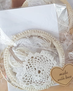 Macrame Hoop 10 cm Dream Catcher Kit - Bespoke