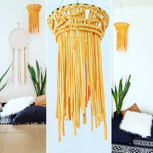 Macrame Chandelier - Ready Made