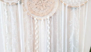 5 Hoop Dream Catcher Cluster - Bespoke