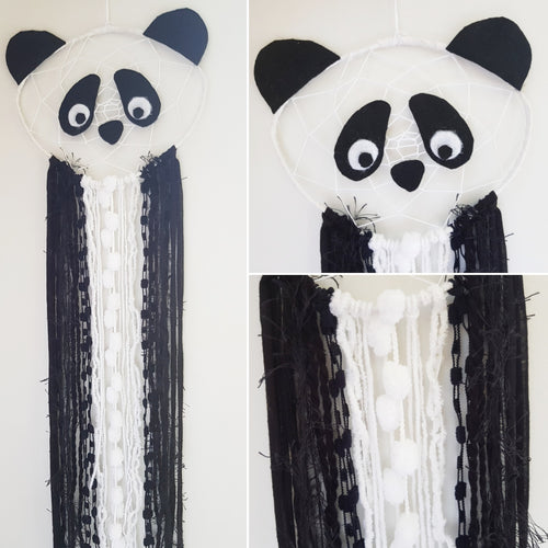 Panda Dream Catcher - Bespoke