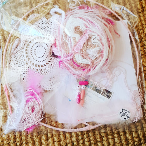 Dream Catcher Kit - 30 cm Hoop- Ready Made