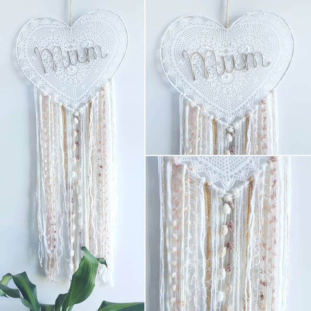 Mothers Day Dream Catcher - Bespoke